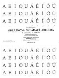 čeština Obrázková skládací abeceda k Českému slabikáři