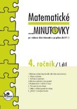 Učebnice matematiky Matematické ...minutovky pro 4. ročník – 1. díl