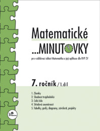 Matematika - 2.st. Matematické ...minutovky 7. ročník – 1. díl