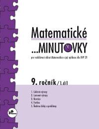 Matematické ...minutovky 9. ročník – 1. díl