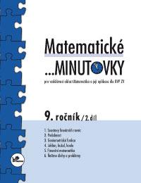 Matematika - 2.st. Matematické ...minutovky 9. ročník – 2. díl